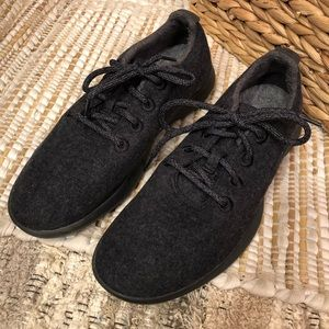 Allbirds Men's Wool Runners Natural Black
